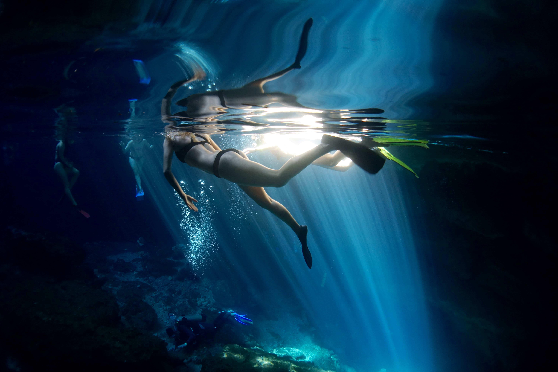 Freediving Florida Springs